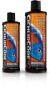 Brightwell Aquatics CichlidCode - trace & minor elements for african cichlids (125ml) 15