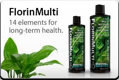 Brightwell Aquatics FlorinMulti - Multi nutrients, 14 elements for planted aquaria (250ml) 12